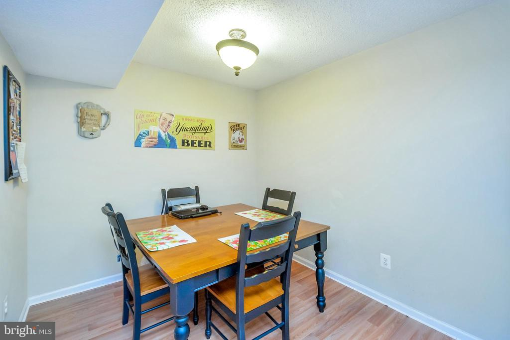 Dining area - 9350 CASPIAN WAY #301, MANASSAS