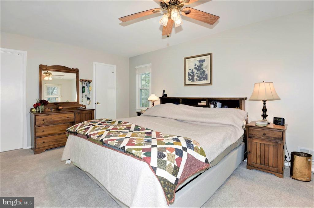 Master bedroom with walk in closet - 2305 ROSEDOWN DR, RESTON