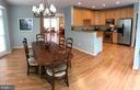 Kitchen and breakfast room - 26104 NIMBLETON SQ, CHANTILLY
