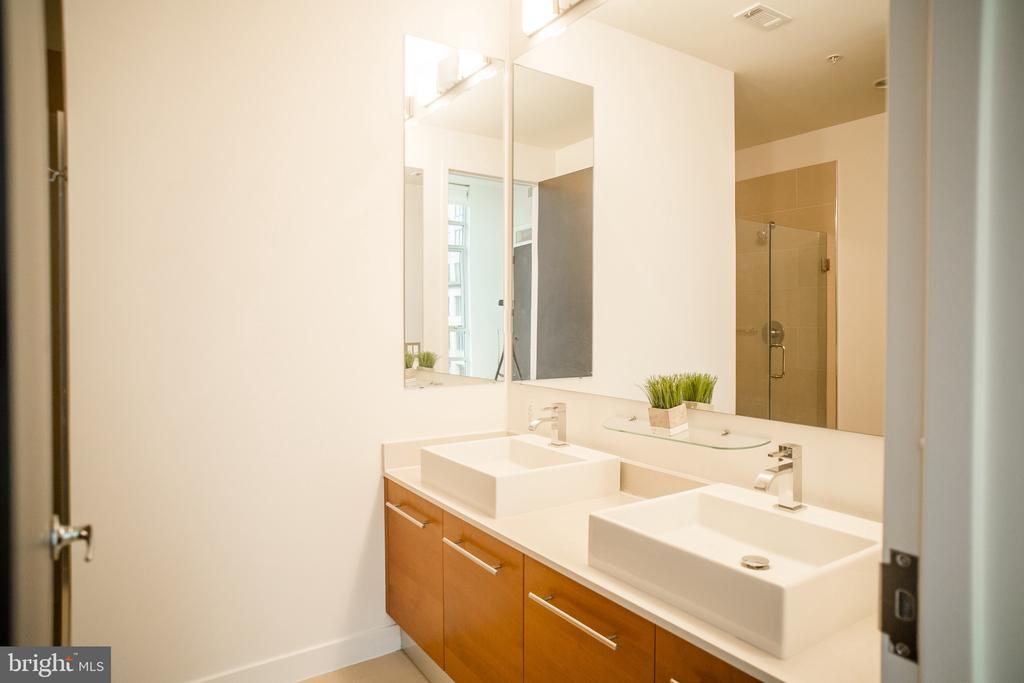 Double Sink in Master Bath - 12025 NEW DOMINION PKWY #313, RESTON
