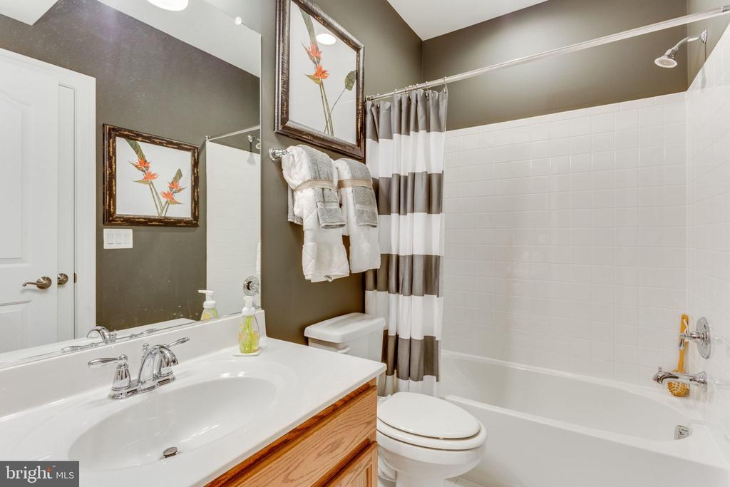 Basement Full Bathroom - 8 SWEET WILLIAM DR, STAFFORD