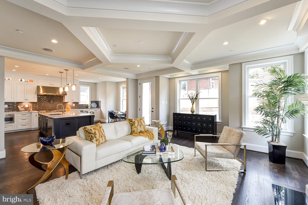Ideal home for entertaining | in ceiling speakers - 4617 GLENBROOK PKWY, BETHESDA