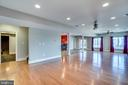 Beautiful Lt Filled Basement W/ Gleaming HW Floors - 38821 RIDGE CT, HAMILTON