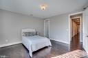 2nd Bedroom, Has adjoining Bath and Walk In Closet - 38821 RIDGE CT, HAMILTON