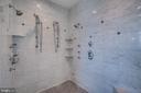 Huge Walk In Shower With Multiple Heads! - 38821 RIDGE CT, HAMILTON