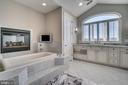 Infinity Tub By Gas Fireplace,2 sep Water Closets - 38821 RIDGE CT, HAMILTON