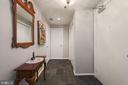 Entrance Foyer Coat Closet + Storage Closet - 1401 N OAK ST N #305, ARLINGTON