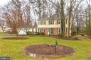 half  an acre yard with 2 car garage - 2305 ROSEDOWN DR, RESTON
