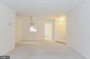 Separate dinning room and living room combo! - 5938 COVE LANDING RD #102A, BURKE