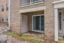 Private patio opens to grassy common area! - 5938 COVE LANDING RD #102A, BURKE