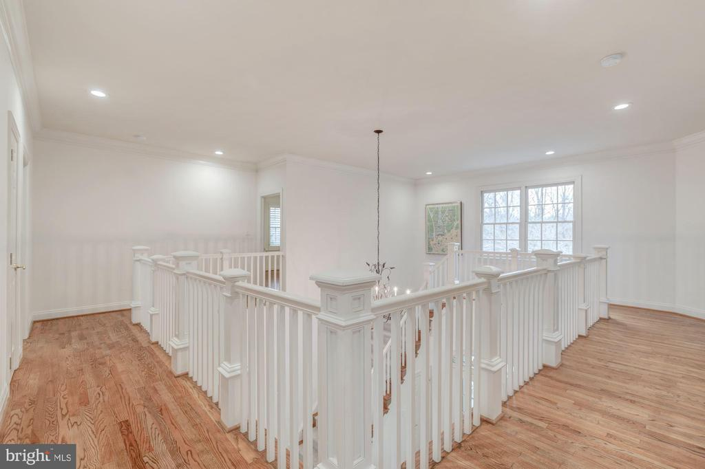 Upper Level Foyer- Hardwood Floors Throughout - 1006 BRYAN POND COURT, MCLEAN