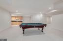Lower Level Game Room - 1006 BRYAN POND COURT, MCLEAN