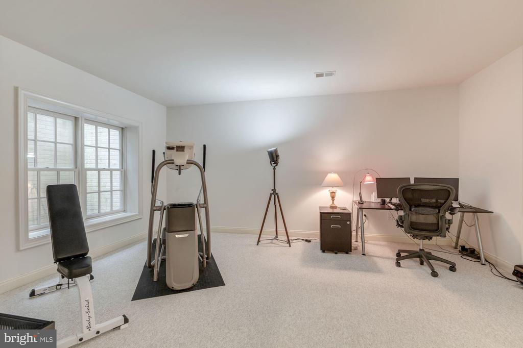 Lower Level Bedroom with a Full Bath - 1006 BRYAN POND COURT, MCLEAN