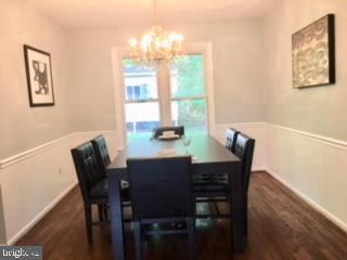 Dining Room - 13201 SHERWOOD FOREST DR, SILVER SPRING