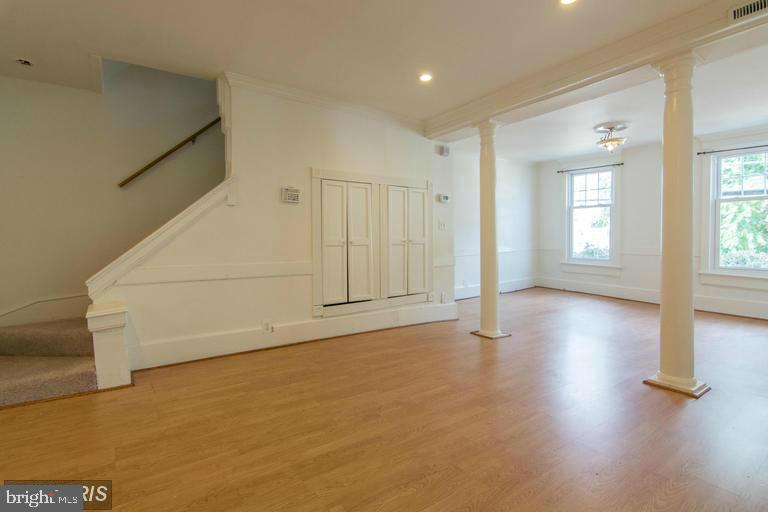 1st Floor Living Room and Stairs to 2nd level - 185 CLAY ST, ANNAPOLIS