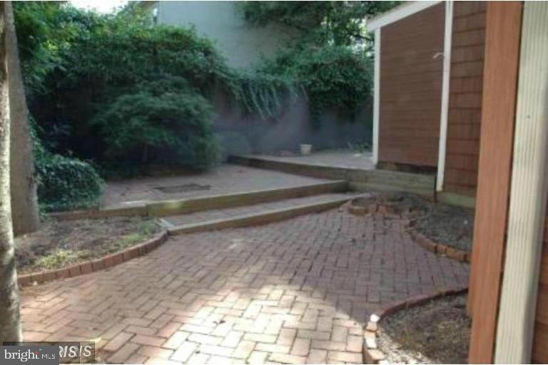 Rear Courtyard - 185 CLAY ST, ANNAPOLIS