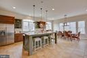 Gourmet Kitchen - 3429 WAPLES GLEN CT, OAKTON