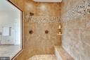 Master shower - 3429 WAPLES GLEN CT, OAKTON