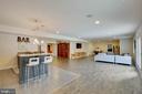 Spacious Rec Room in Basement - 3429 WAPLES GLEN CT, OAKTON