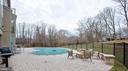 Salt water in ground pool with large patio - 3429 WAPLES GLEN CT, OAKTON