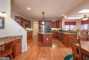 Beautiful Kitchen View from Dining room - 10515 WILDBROOKE CT, SPOTSYLVANIA