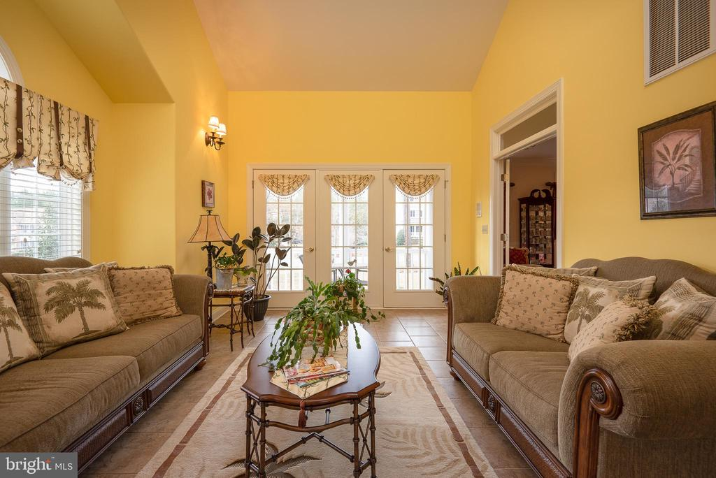 Sunroom offers Happiness & Cathedral Ceiling! - 10515 WILDBROOKE CT, SPOTSYLVANIA