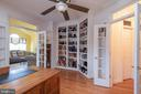 Professional Office/Library with Built-Ins - 10515 WILDBROOKE CT, SPOTSYLVANIA