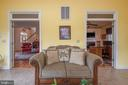 Sunroom located off Living Room & Office - 10515 WILDBROOKE CT, SPOTSYLVANIA