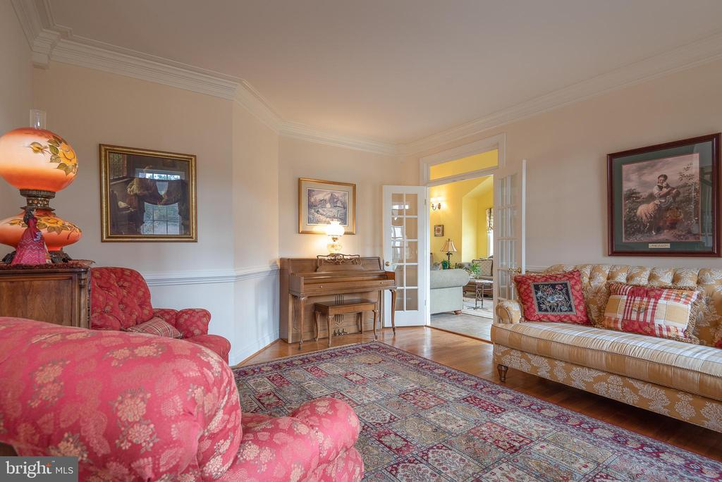View of Sunroom from Charming Living Room - 10515 WILDBROOKE CT, SPOTSYLVANIA