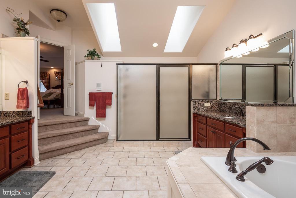 Luxury Spa Bath/ Dual Sinks/Dual Shower Heads - 10515 WILDBROOKE CT, SPOTSYLVANIA