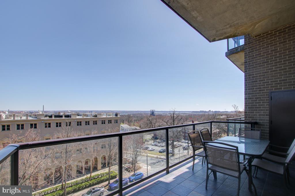 Balcony  View - 1401 N OAK ST N #305, ARLINGTON