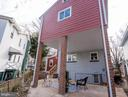 Rear of house and yard - 3701 SOUTH DAKOTA AVE NE, WASHINGTON