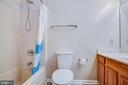 Main Level Hall Bath - 5514 S BRANCH RD, FREDERICKSBURG