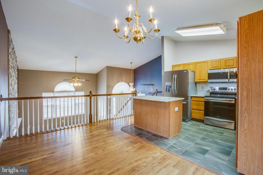 Open to Family Room - 5514 S BRANCH RD, FREDERICKSBURG