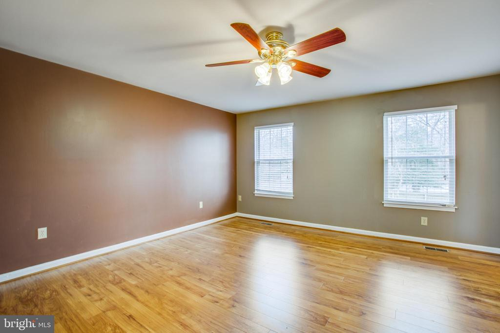 Main Level Master Bedroom - 5514 S BRANCH RD, FREDERICKSBURG