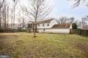 Spacious Backyard - 5514 S BRANCH RD, FREDERICKSBURG
