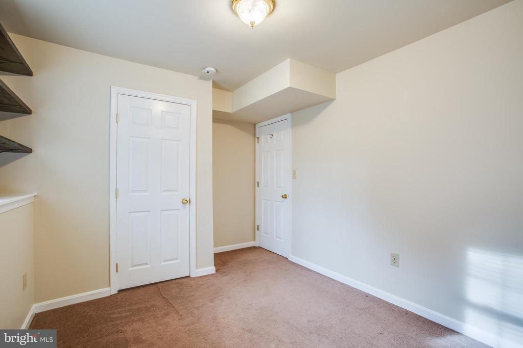 Lower Level Bedroom - 5514 S BRANCH RD, FREDERICKSBURG
