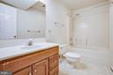 Lower Level Full Bath - 5514 S BRANCH RD, FREDERICKSBURG