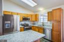 Renovated Kitchen with new appliances - 5514 S BRANCH RD, FREDERICKSBURG