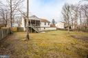 Backyard - 5514 S BRANCH RD, FREDERICKSBURG