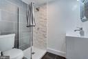 Basement Full Bathroom - 3701 SOUTH DAKOTA AVE NE, WASHINGTON