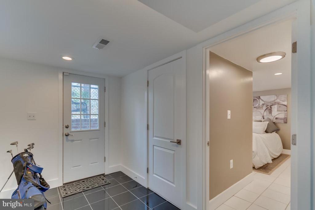 Rear exit basement - 3701 SOUTH DAKOTA AVE NE, WASHINGTON