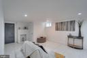 Basement Living Area - 3701 SOUTH DAKOTA AVE NE, WASHINGTON