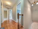 Upstairs hallway area - 6012 CREST PARK DR, RIVERDALE