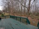 Great deck for outdoor entertaining! - 6012 CREST PARK DR, RIVERDALE