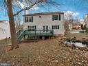 Nice back yard with room to play! - 6012 CREST PARK DR, RIVERDALE