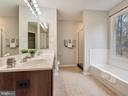 Gorgeous Master Bath - 6012 CREST PARK DR, RIVERDALE