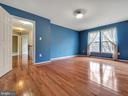 Gleaming hardwood floor in Master Bedroom - 6012 CREST PARK DR, RIVERDALE