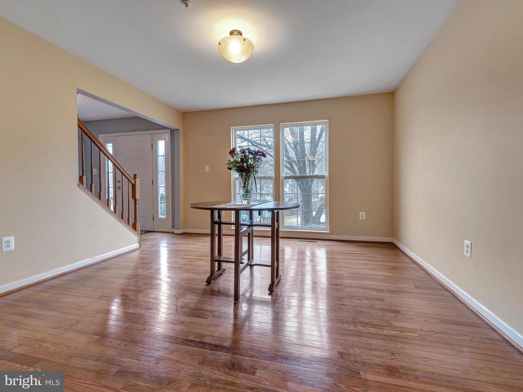 Hardwood in Dining Room - 6012 CREST PARK DR, RIVERDALE