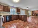 Great kitchen w/table space opens to Living Room - 6012 CREST PARK DR, RIVERDALE